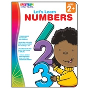 Carson Dellosa® Spectrum Early Years Let's Learn Numbers Workbook, Grades PreK