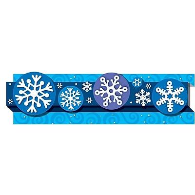 Carson-Dellosa Pop-Its™ Border, Snowflakes