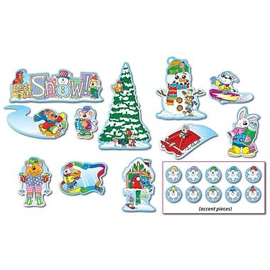 Carson Dellosa Mini Bulletin Board Set, Winter (CD-110061)