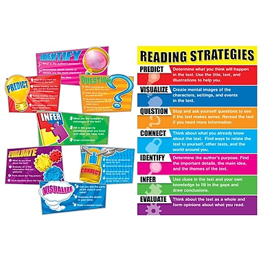 Carson Dellosa Bulletin Board Set, Reading Strategies (CD-110103)