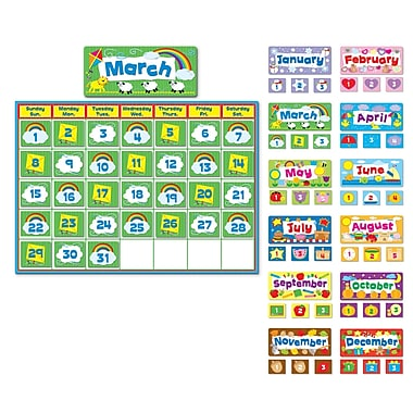 Carson Dellosa® Complete Calendar Kit and Bulletin Board Set
