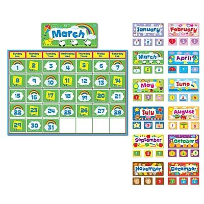 Carson Dellosa® Complete Calendar Kit and Bulletin Board Set