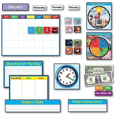 Carson Dellosa® Grade 1 - 2 Morning Meeting Solution Bulletin Board Set