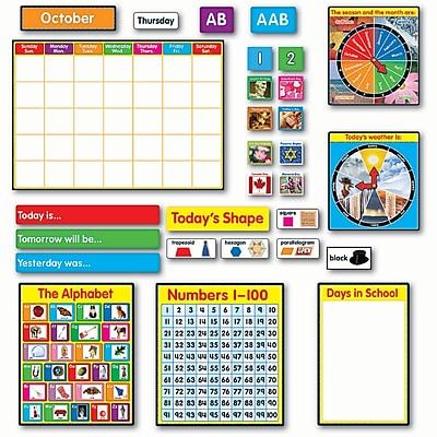 Carson-Dellosa Bulletin Board Set, Morning Meeting Solutions, Grade K