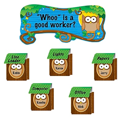 Carson Dellosa® Bulletin Board Set, Owl Job Assignment Pop-Its™