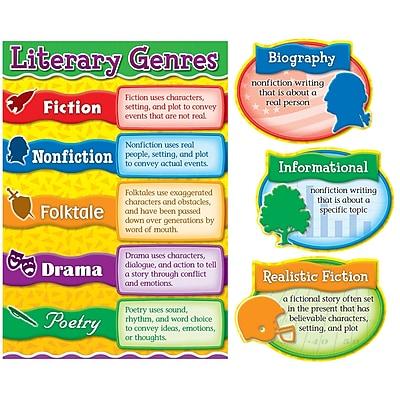 Carson-Dellosa Bulletin Board Set, Literary Genres