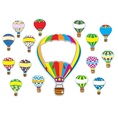 Carson Dellosa® Bulletin Board Set, Hot Air Balloons