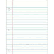 Carson Dellosa® Notebook Paper Chart, Language Arts