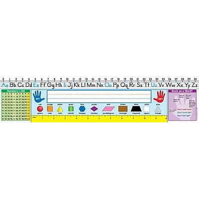 Carson Dellosa® Grades 1 - 2 Traditional Manuscript Nameplate