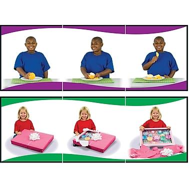 Carson Dellosa® Learning to Sequence 3-Scene Board Game, Grades Preschool - 1
