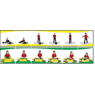 Carson-Dellosa Learning to Sequence 6-Scene Board Game, Grade Preschool - 1 (CD-140090)