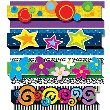 Carson-Dellosa Pop-Its™ Border, Decorative, 4 Designs