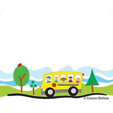 Carson-Dellosa - Porte-noms, 3 x 2 1/2 po, autobus scolaire, 40/paquet (CD-150008)