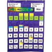Carson Dellosa - Tableau à pochettes calendrier et température
