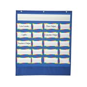 Carson Dellosa Classroom Helpers Pocket Chart by