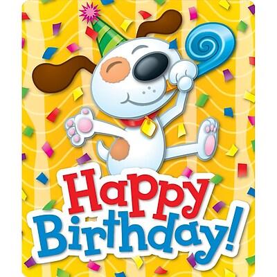 Carson-Dellosa Stickers, Motivational, Happy Birthday