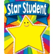 Carson-Dellosa Stickers, Motivational, Star Student