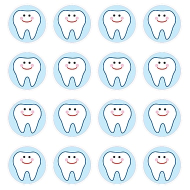 Carson Dellosa® Teeth Chart Seal Sticker