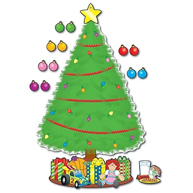Carson Dellosa® Bulletin Board Set, Big Christmas Tree