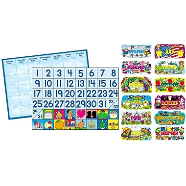 Carson Dellosa Year 'Round Calendar Set (CD-1793)