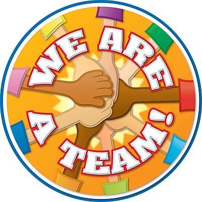 Carson Dellosa® Two Sided Decoration, We Are a Team!