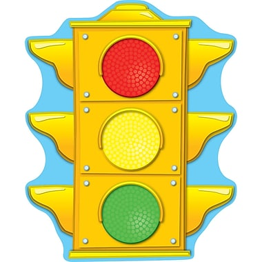 Carson Dellosa® Two Sided Decoration, Stoplight