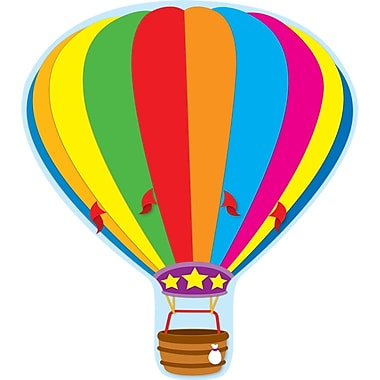 Carson Dellosa® Two Sided Decorations, Hot Air Balloon