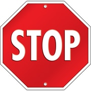 Carson Dellosa® Two Sided Decoration, Stop Sign