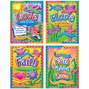 Faith, Hope, and Love Bulletin Board Set (CD-210004)