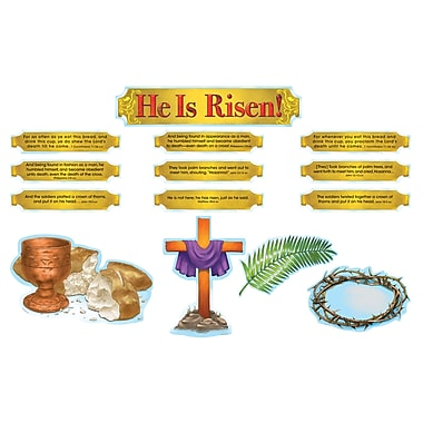 Carson Dellosa® Bulletin Board Set, He Is Risen!