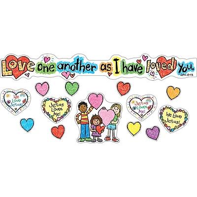 Love One Another Mini Bulletin Board Set