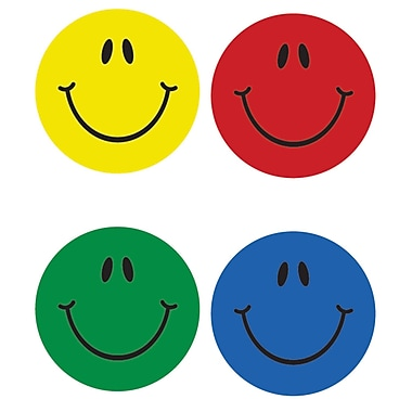 Smiles, Multicolor Stickers