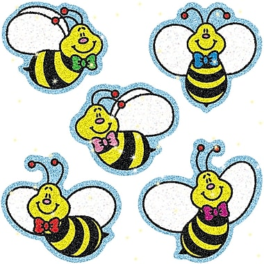 Carson Dellosa Bees Dazzle Sticker, 900/Pack (CD-2902)