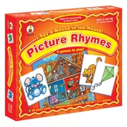 Carson Dellosa « I Spy A Mouse In The House! » Jeu de société Picture Rhymes, prématernelle à 1re année (CD-3111)