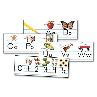 Carson Dellosa® Bulletin Board Set, Traditional Manuscript Alphabet With Photographs