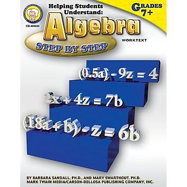 Carson Dellosa® Helping Students Understand Algebra Resource Book, Grades 7 - 8