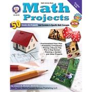 Carson Dellosa® Mark Twain Media Math Projects Resource Book, Grades 5 - 8