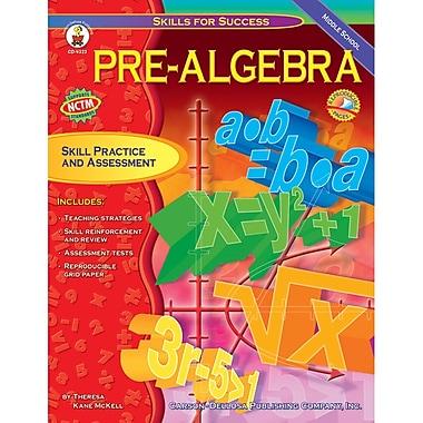 Carson Dellosa® Skills For Success Pre-Algebra Resource Book, Grades 6 - 8