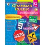 """Carson Dellosa® """"Grammar Rules"""" Grade 3-4 Resource Book, Language Arts"""