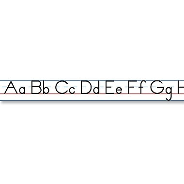 Carson Dellosa® Manuscript Alphabet (Traditional) Desk Tape, Language Arts