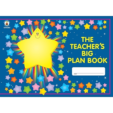 Carson Dellosa The Teacher's Big Plan Book, Grades K - 5, 2/Pack (CD-8205)