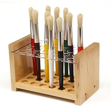 Chenille Kraft Wooden Paint Brush Stand, Each/Pack (ck-5148)