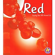 Capstone Publishing® Colors Book,  Red
