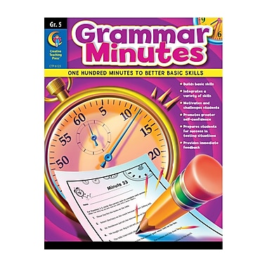 Creative Teaching Press Grammar Minutes Nook, Grade 5 (CTP6123)