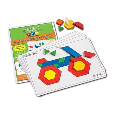 Learning Advantage™ Pattern Block Cards, Grades K - 4