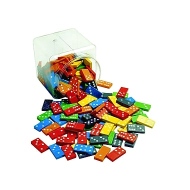 Learning Advantage™ Double 6 Color Dominoes, Grades K+