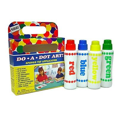 Do-A-Dot Art 4 Piece Rainbow Washable Marker Set, 2.5 oz., Assorted 935356
