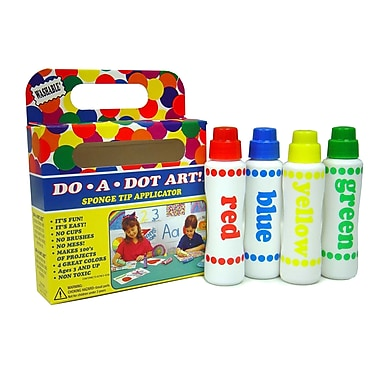 Do-A-Dot Art™ 4 Piece Rainbow Washable Marker Set, 2.5 oz., Assorted