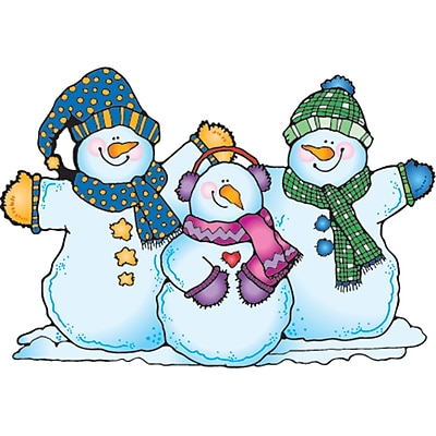 Snow Pals  Bulletin Board Set