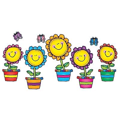 Carson-Dellosa Bulletin Board Set, Blooming Flowers